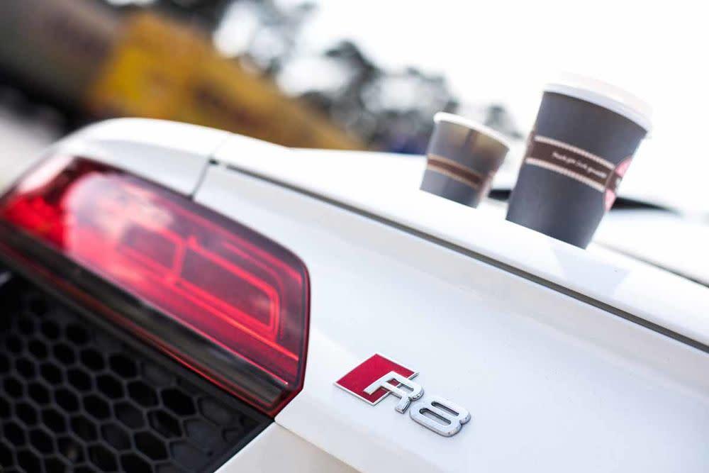 Audi R8 Coupé V10 RWS, Spoiler