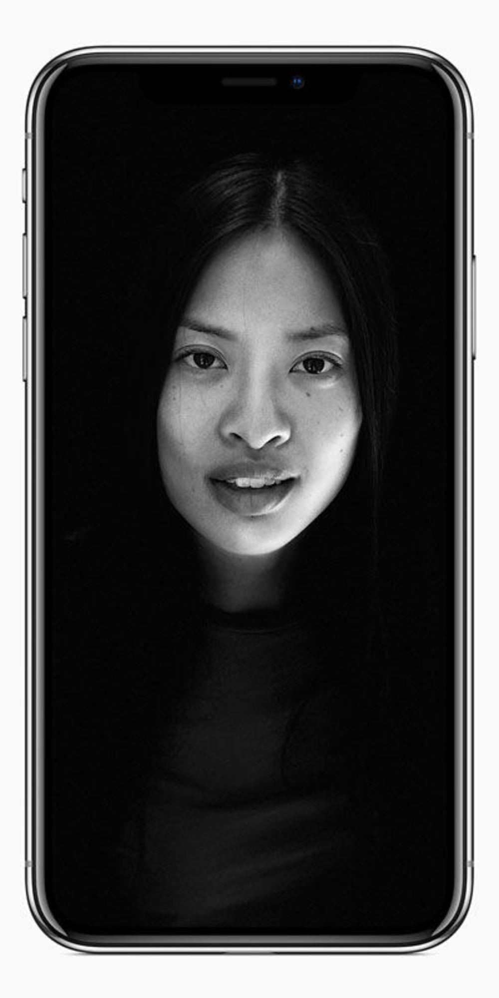 Die Frontkamera des iPhone X verfügt über denselben Portrait Lightning Modus. Das garantiert bessere Selfies!