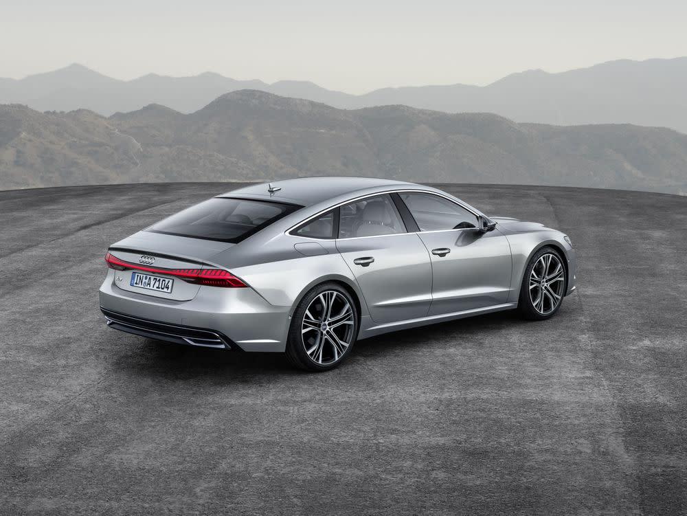Audi A7 Sportback hoch