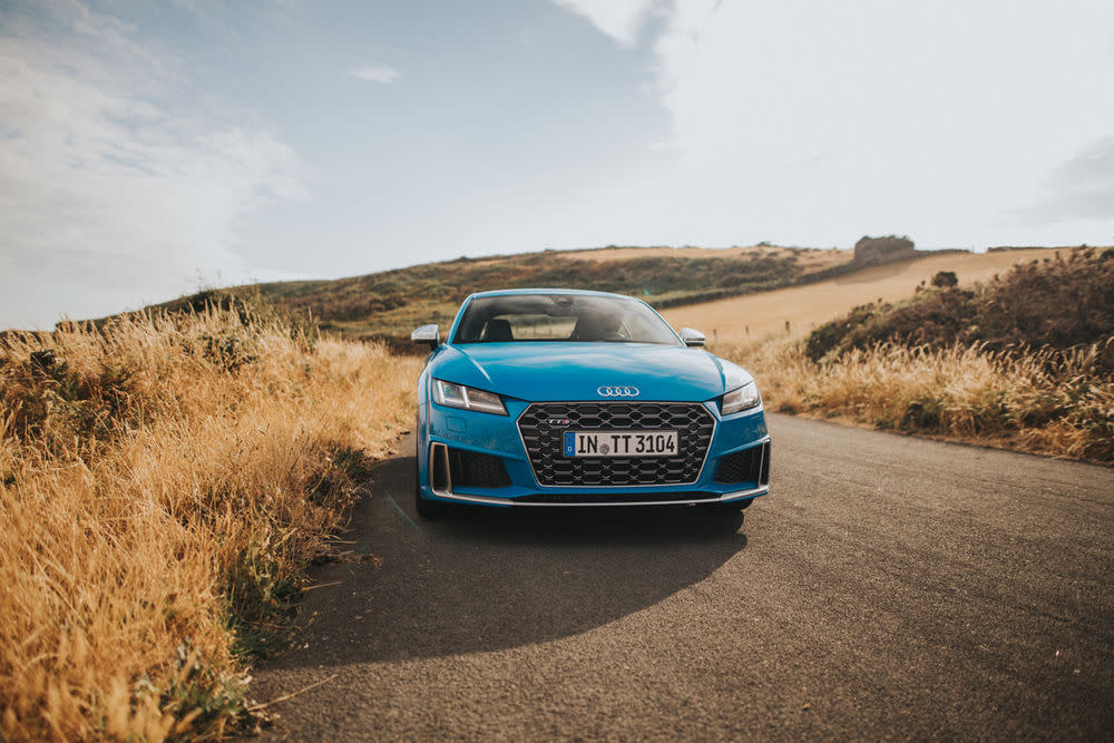 GQ testet den neuen Audi TTS auf der Isle of Man