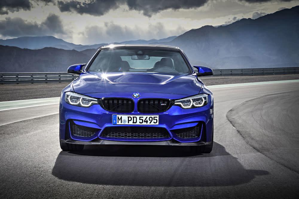 ...dem M4 mit Competition Paket (450 PS) und dem Topmodell M4 GTS (500 PS und ausverkauft) rollt die neue Clubsport-Variante vom Stapel.