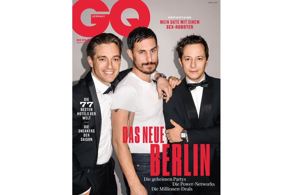 GQ April-Ausgabe