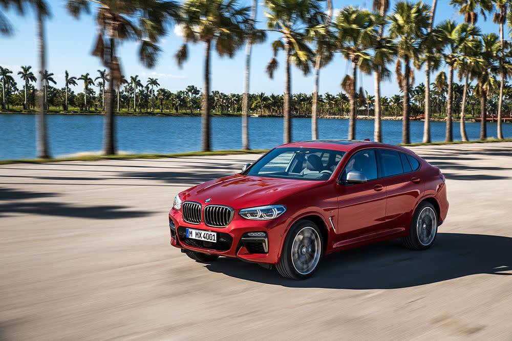 Die Maße des neuen BMW X4: 4,75 x 1,92 Meter.