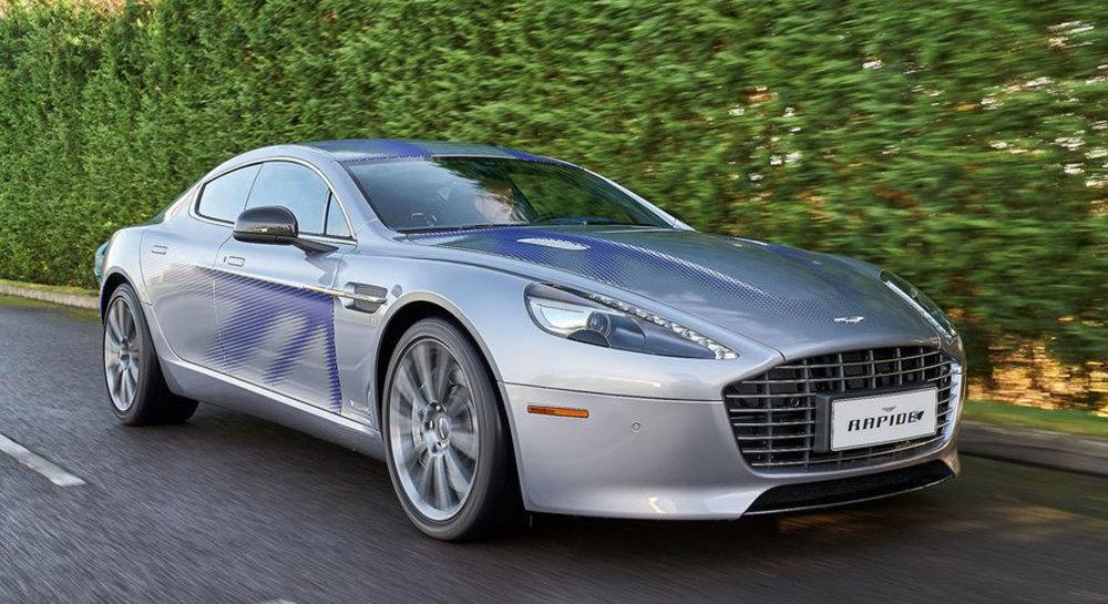 Top 10 Tesla-Konkurrenten: Aston Martin Rapide E