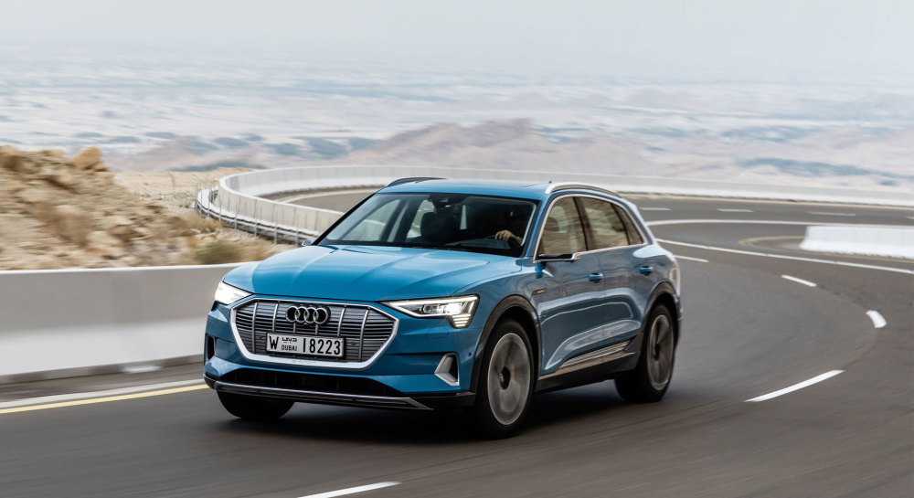 Top 10 Tesla-Konkurrenten: Audi e-tron 55