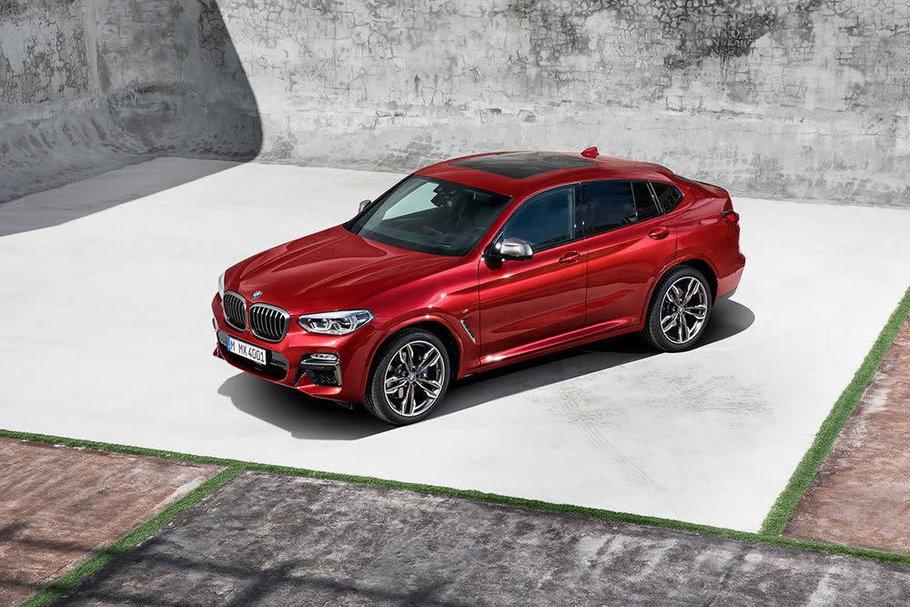 Vom BMW X4 gibt es gleich sieben verschiedene Motoren.