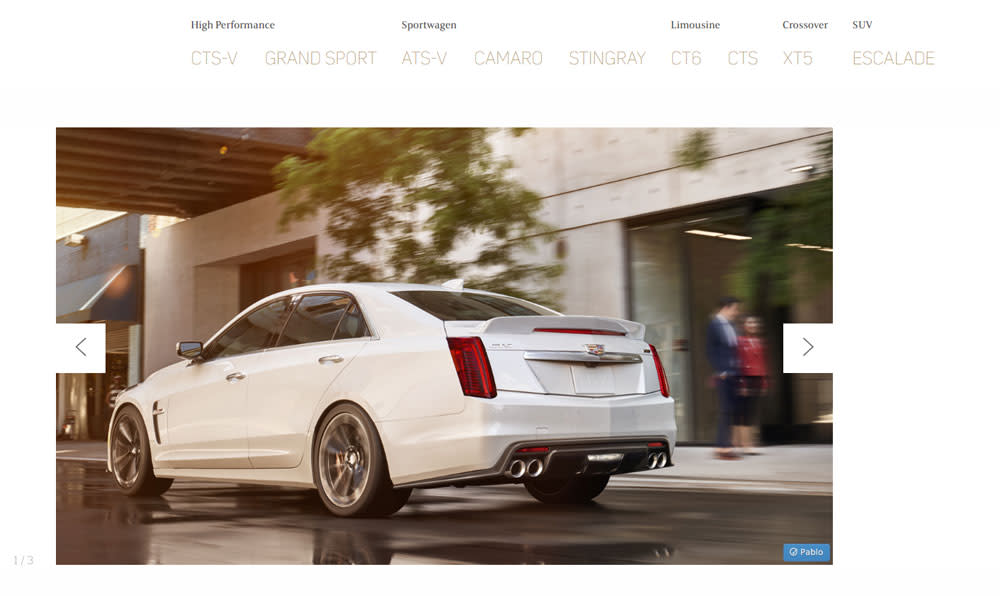 Book by Cadillac: PS-Power mit dem CTS-V