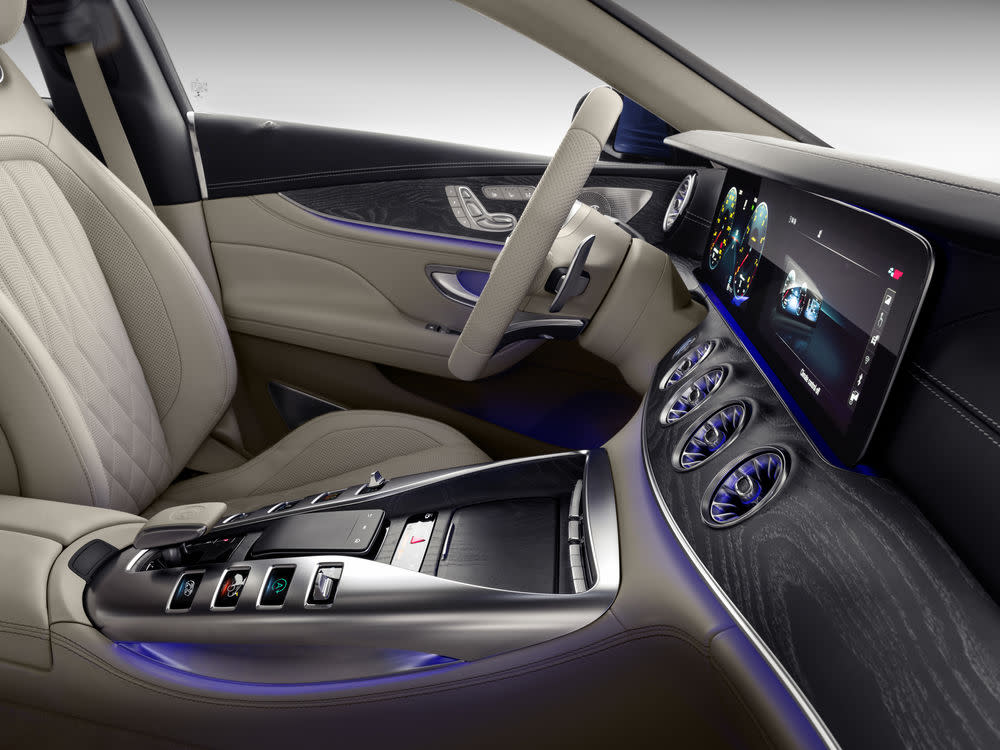 Der neue Mercedes-AMG GT 63 S: Interieur