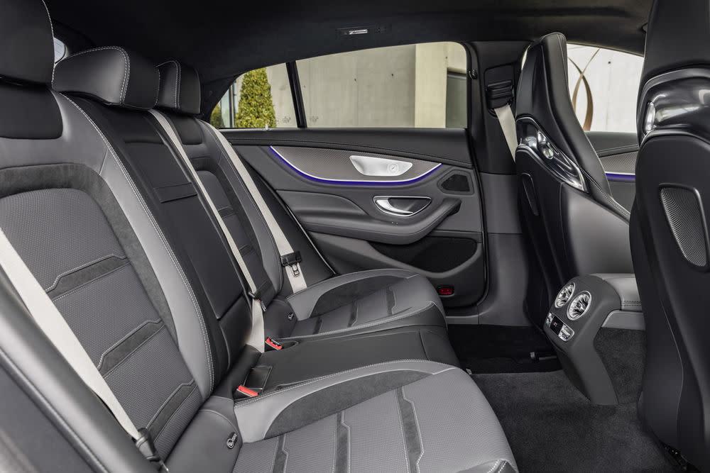 Der neue Mercedes-AMG GT 53: Interieur