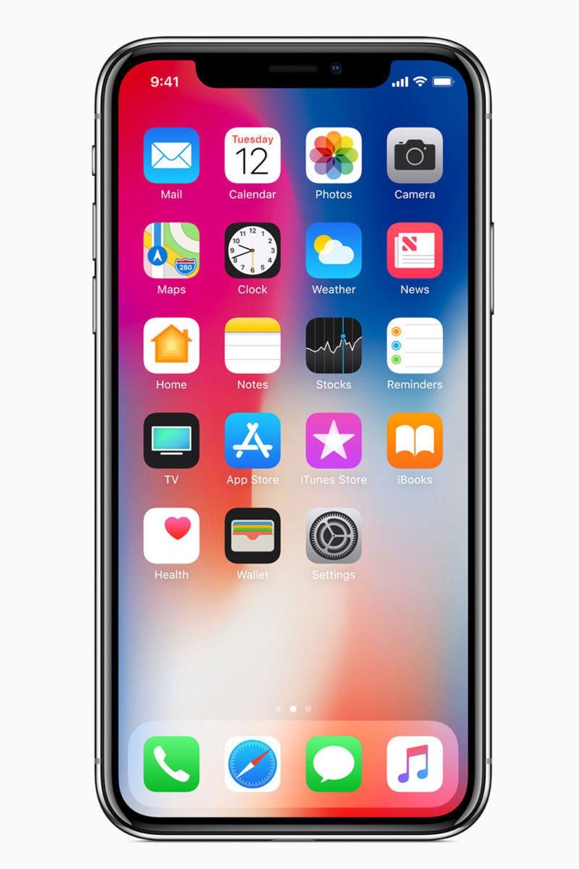 Das iPhone X bekommt ein nahezu randloses Super Retina Display. ( Die Auflösung übertrifft das jetzige Retina-Display). Der Homebutton entfällt, deshalb funktioniert die Bedienung anders als bisher gewohnt.