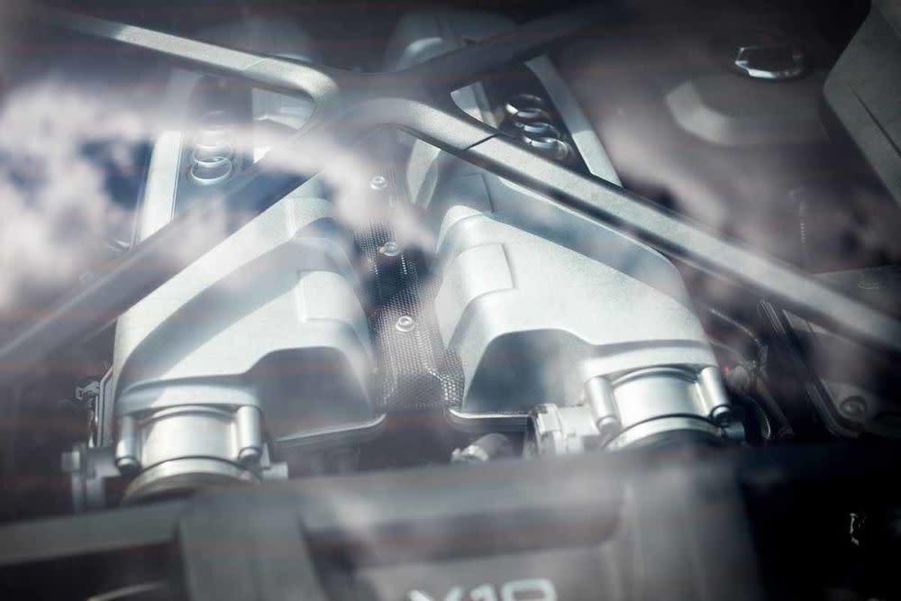 Audi R8 Coupé V10 RWS , Motor