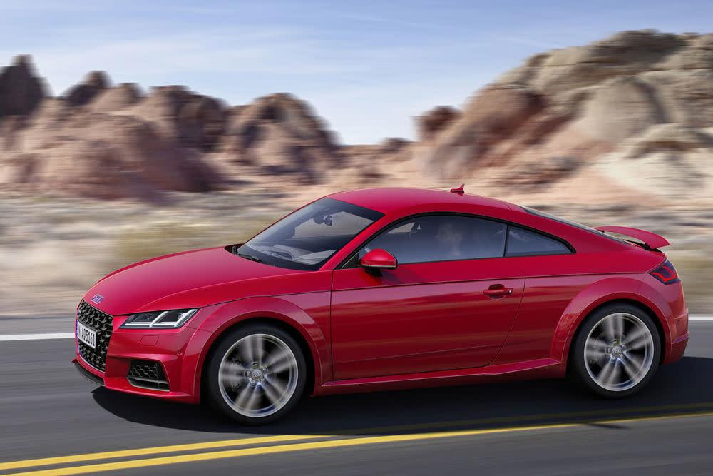 Audi TT - ab35.000,00 Euro.