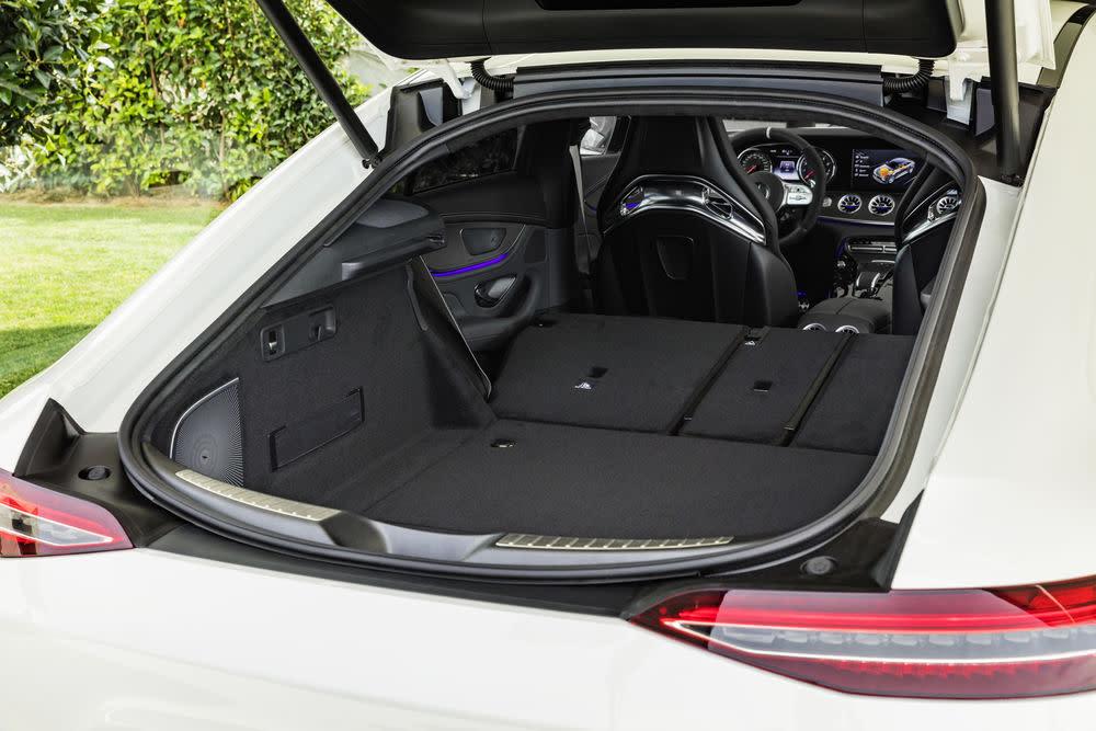 Der neue Mercedes-AMG GT 53: Kofferraum