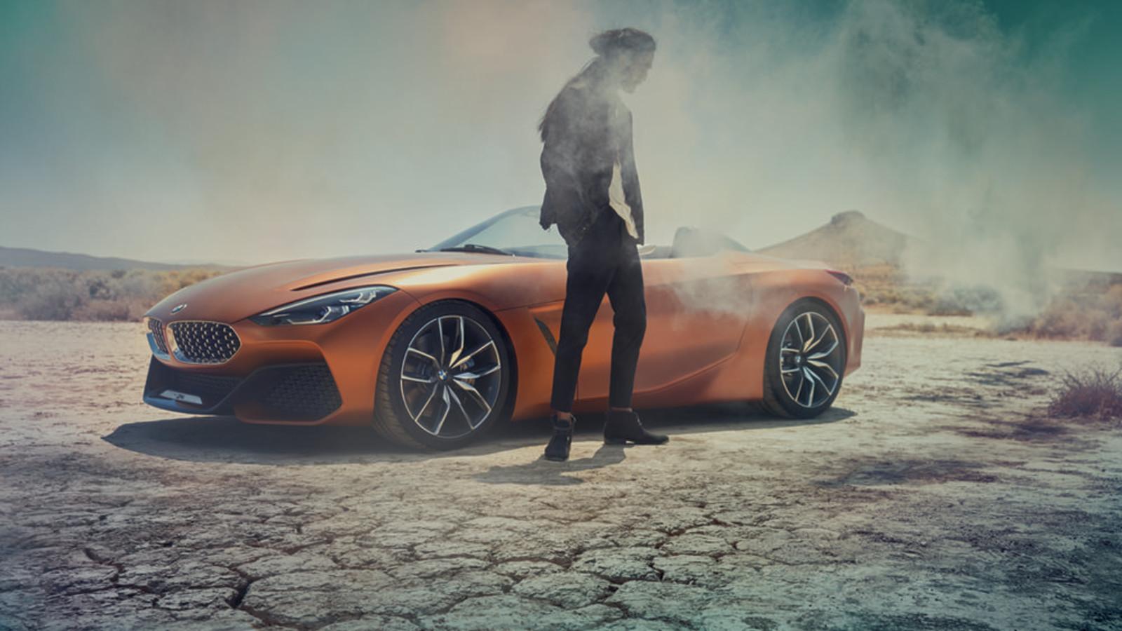 BMW Z4 Concept, Pebble Beach, Seite