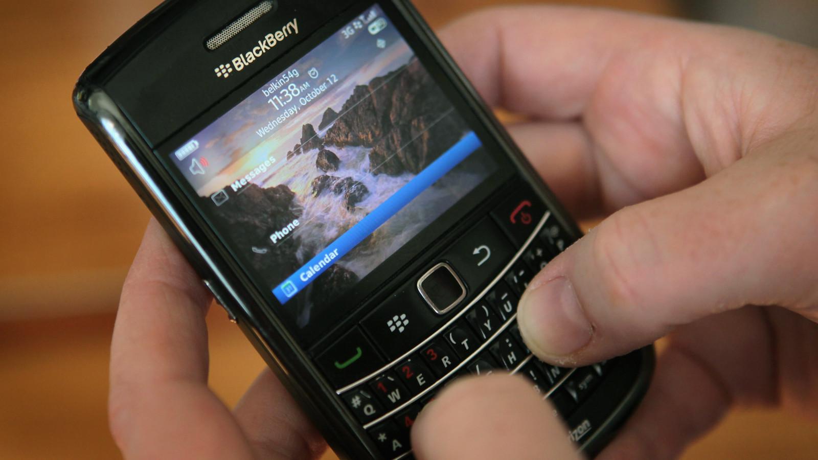Altes Blackberry Modell – Neuauflage soll 2021 kommen