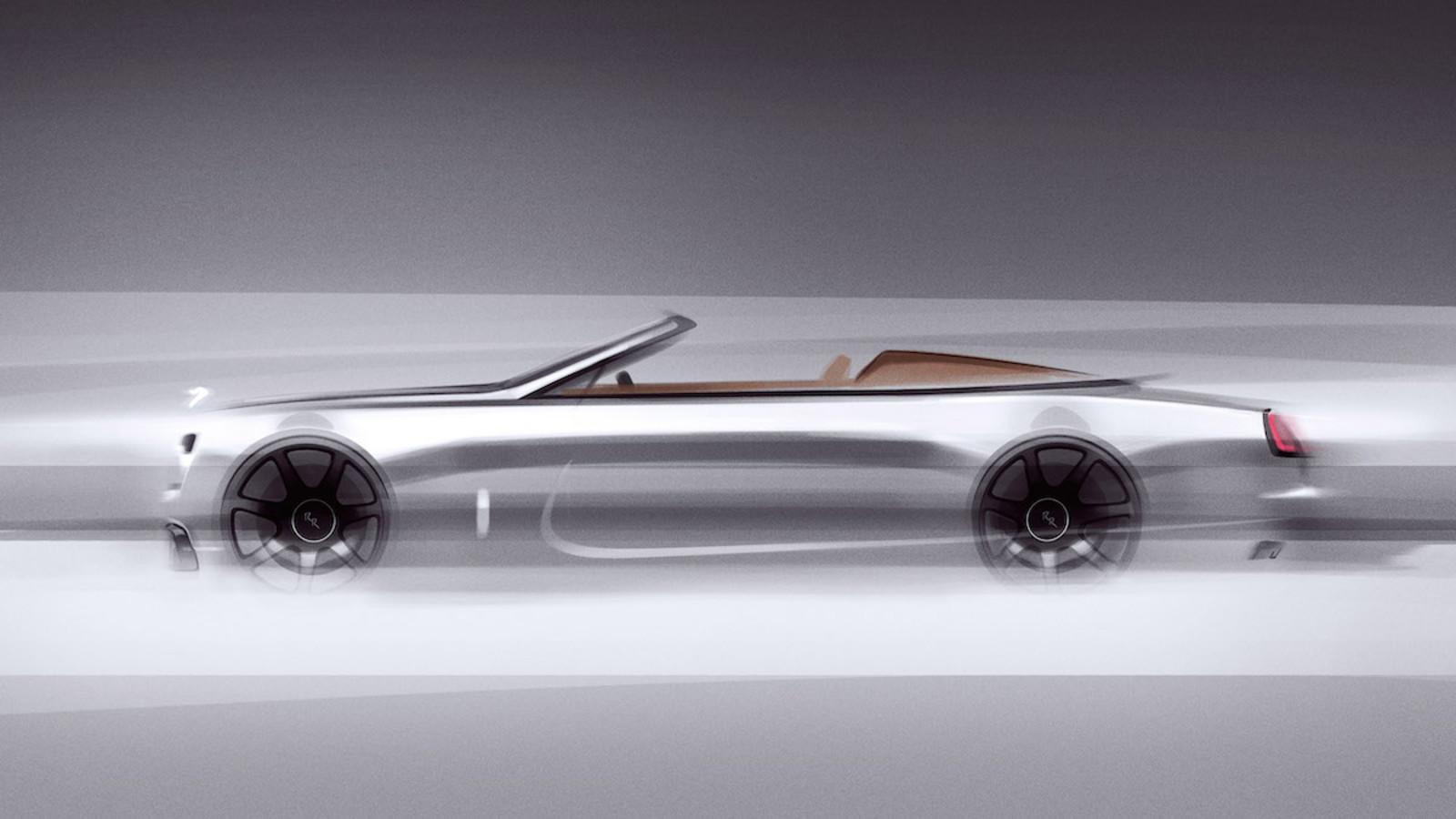 Rolls-Royce, Cabrio, Roadster, Luxus, Dawn Silver Bullet