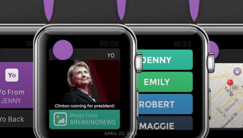 Digital ist besser / Dank der Apple Watch wird aus Yo endlich eine sinnvolle App!