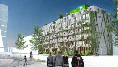 Diese schwedischen Apartments sind nur für Fahrradfahrer