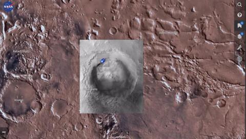 Mit der neuen App der NASA könnt ihr virtuell zum Mars reisen