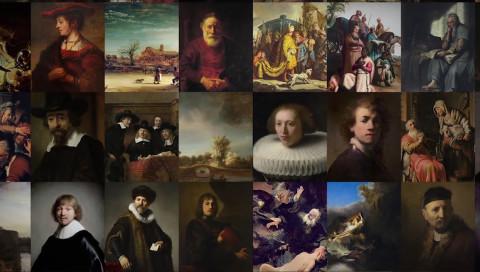 Mit Big Data und 3D-Druck entstand ein neues Rembrandt-Gemälde