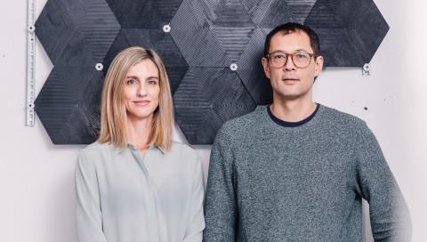 Zwei Architekten aus Berlin entwickeln Baustoffe gegen den Klimawandel