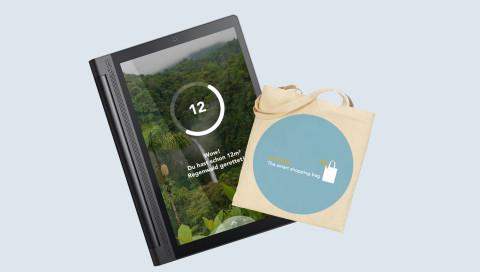 Mit dieser Tasche rettet ihr beim Einkaufen ein Stück Regenwald