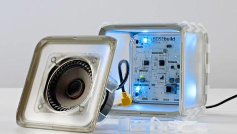 Diesen Lautsprecher von Bose können Kinder selbst zusammenbauen