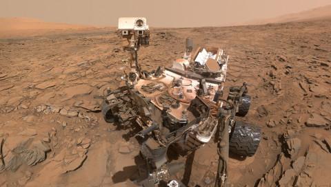 Curiosity findet Hinweise auf explosive Marsvulkane