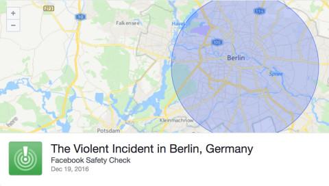 Facebook Safety Check: Algorithmen können nicht allein verantwortlich sein