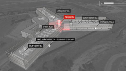 Ehemalige Gefangene digitalisieren Syriens Foltergefängnis