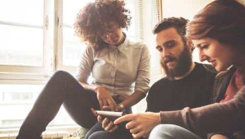 Studie über Social-Media-Nutzung: Konkurrenz für Millennials
