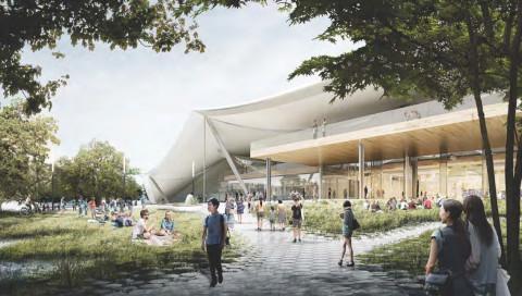 So soll Googles neues Hauptquartier jetzt aussehen