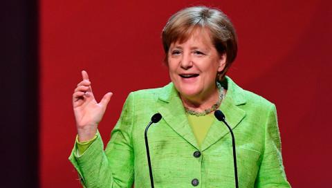 Roboter im Fokus: Merkel eröffnet die Hannover Messe 2017