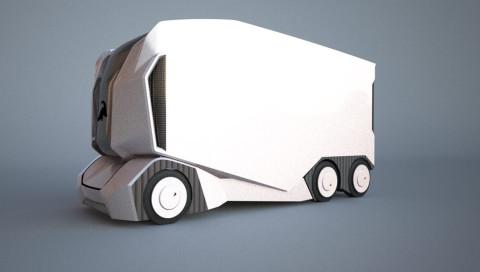 Einride enthüllt einen Prototyp seines autonomen Trucks