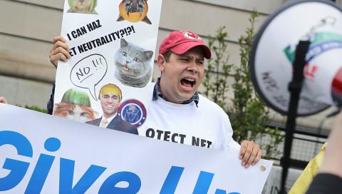 Tech-Unternehmen von Netflix bis Google protestieren für Netzneutralität