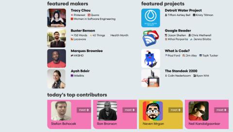 Die Website Makerbase funktioniert wie IMDb für Designer und Developer