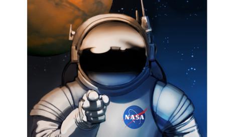 """Die """"Mars Entdecker gesucht""""-Poster der NASA begeistern uns"""