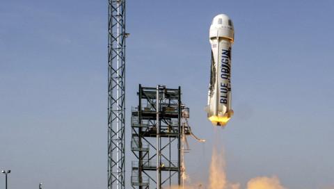 Blue Origin hat den vierten Flug mit derselben Rakete geschafft