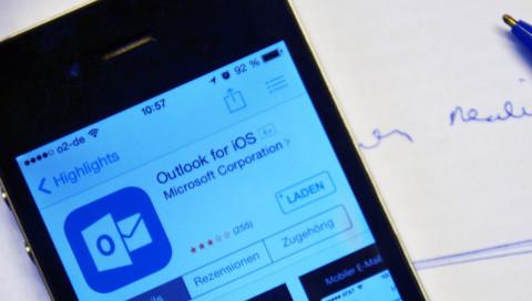 Neues vom Admin: Outlook für iOS ist viel weniger schlimm als befürchtet
