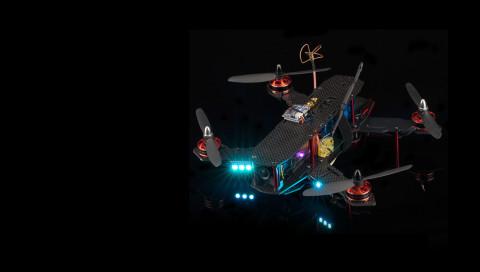 Neues vom Admin / Drei Wochen mit einer Racing-Drohne