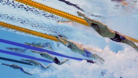 Hören statt dopen: Sound soll Schwimmer schneller machen