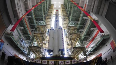 China bringt eine neue Raumstation ins All