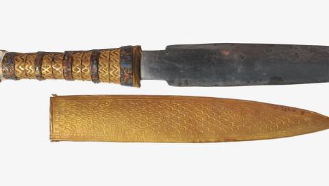 Tutanchamuns kosmische Grabbeigabe: ein Dolch aus Meteoriten-Eisen