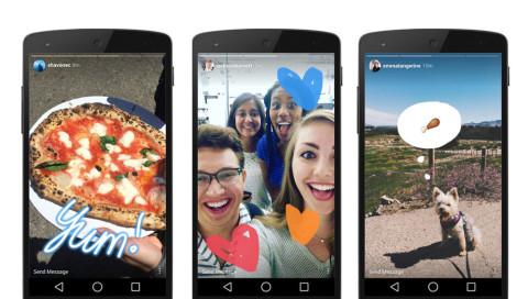 Instagram Stories: Angriff auf Konkurrent Snapchat