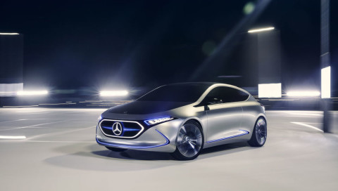 Preiswert mit gutem Look: Mercedes bringt mit EQA Elektro-Alternative zur A-Klasse