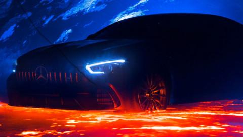 Der AMG GT als Viertürer