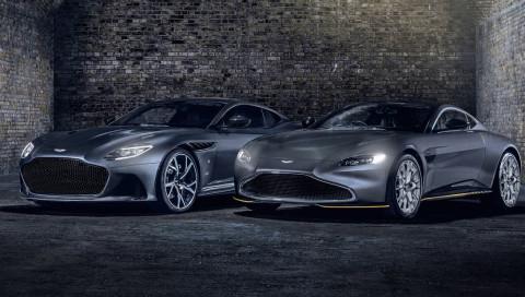 James Bond: Aston Martin bringt zwei 007-Sondermodelle heraus