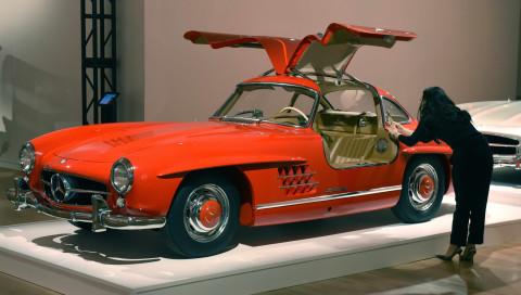 Mercedes-Benz 300 SL Gullwing: Auktionshaus versteigert unrestauriertes 1955er-Modell
