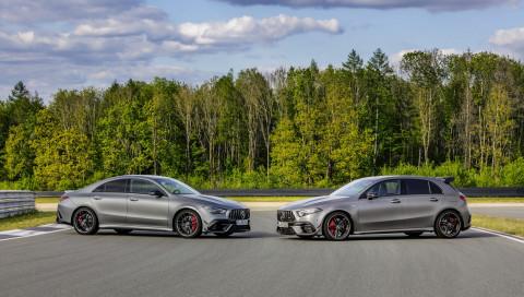 Mercedes-AMG präsentiert den A 45 und CLA 45