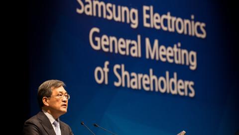 Der Samsung-Chef tritt zurück